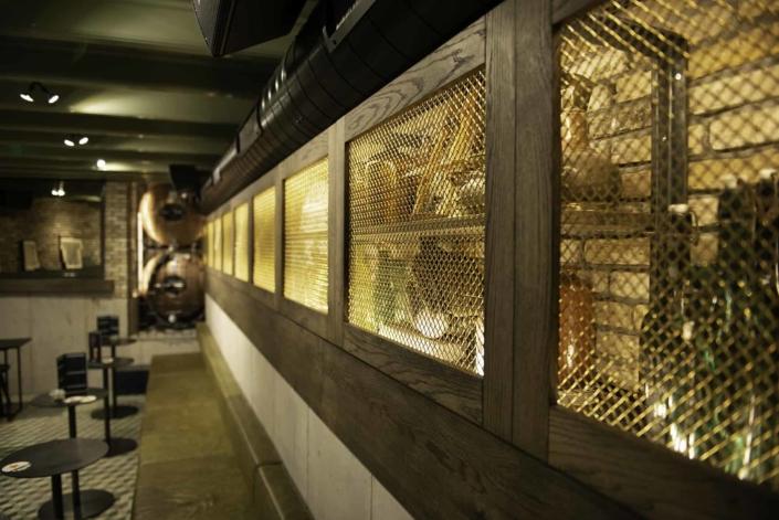 Interior Decor of our Amsterdam Bar